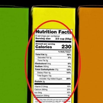 Warning: These Nutrition Label Updates Could Make You Gain Weight!