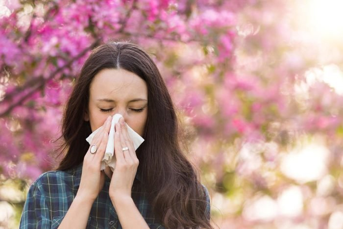 Allergies to pollen