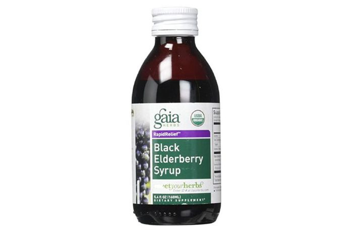 Gottle of Gaia black elderberry syrup