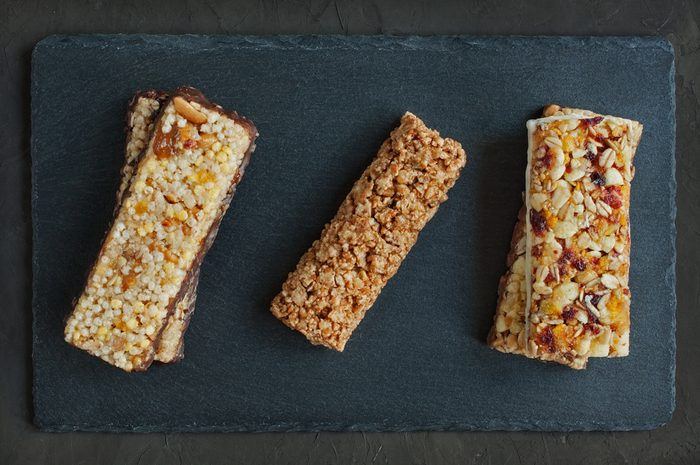 Various of granola bars