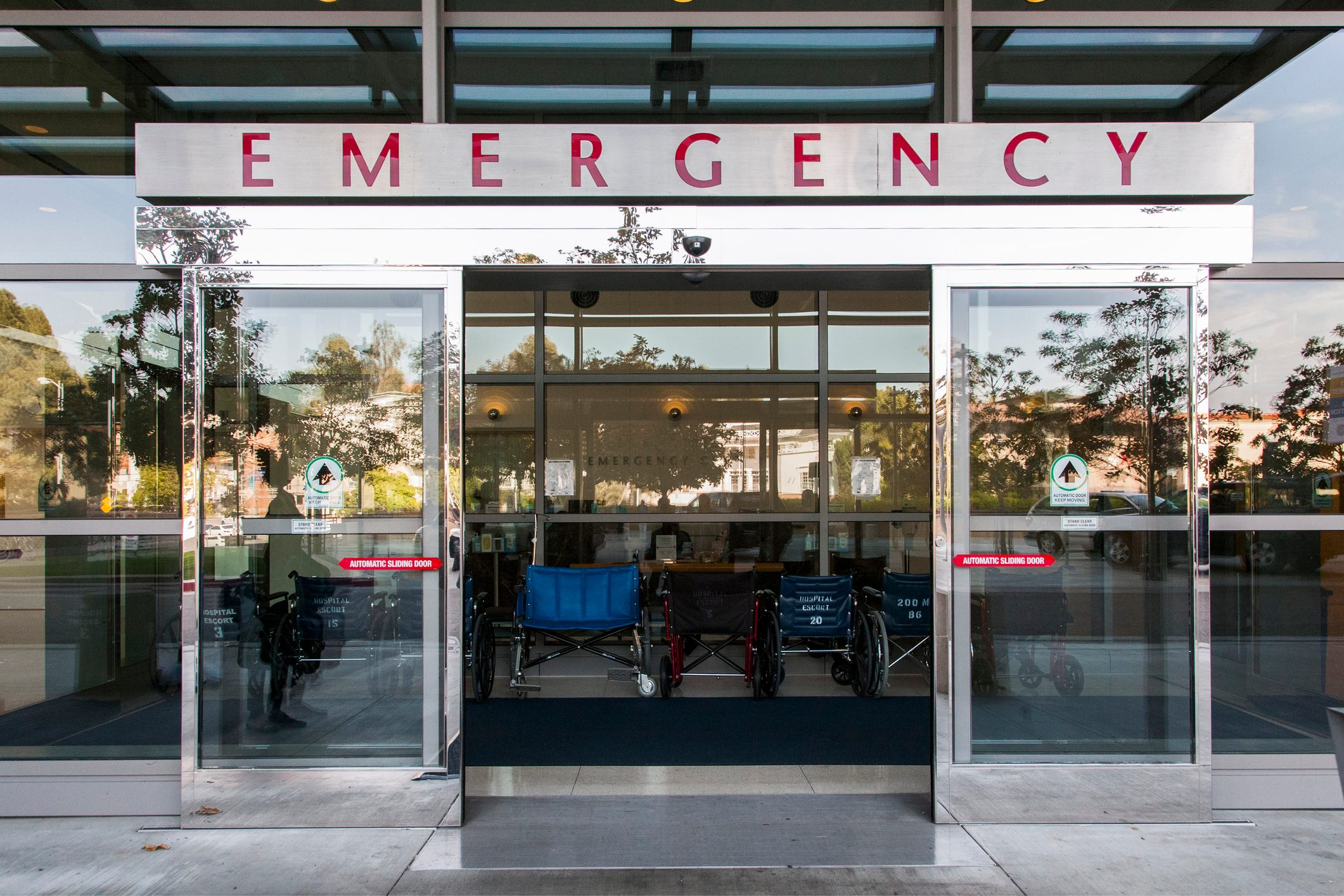 emergency room doors
