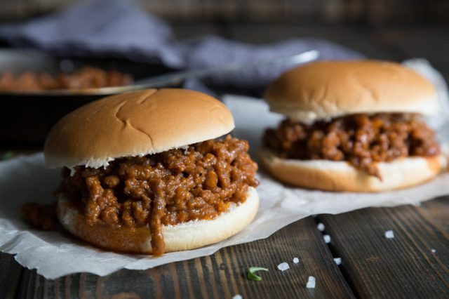 Hamburger Sloppy Joe