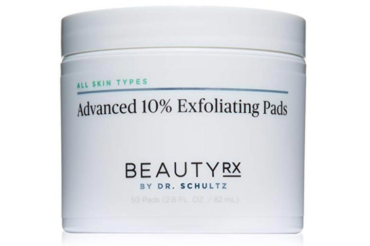Exfoliating pads for acne.