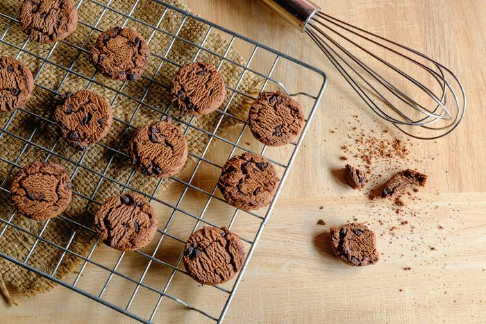 Homemade Cookies Chocolate Chip