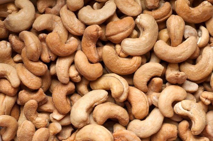 cashew nuts full frame