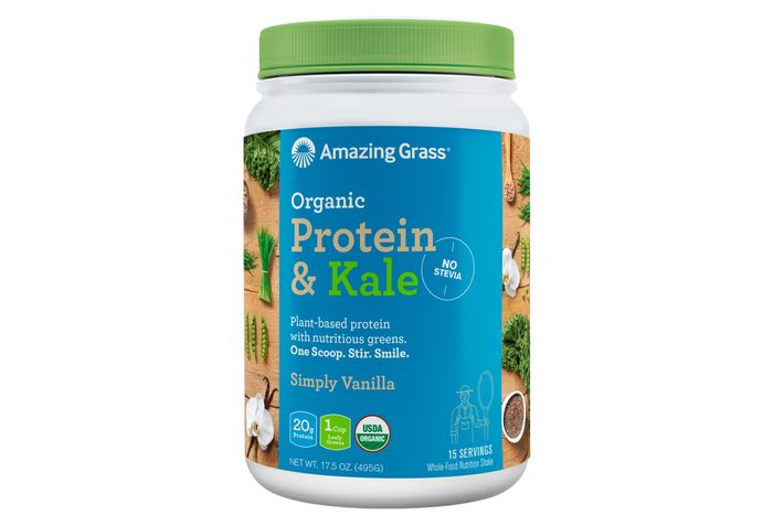 protein and kale
