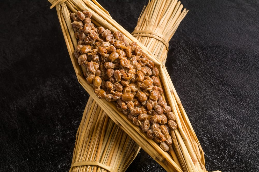 Soybean fermented food (natto)