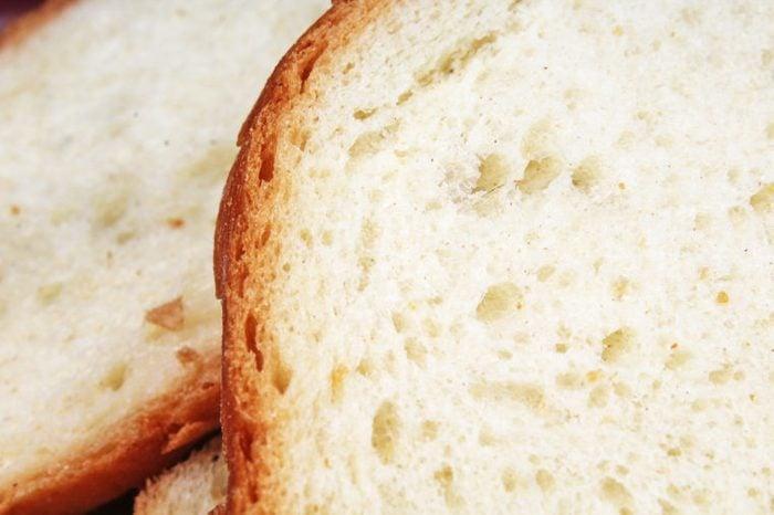 slices of white bread