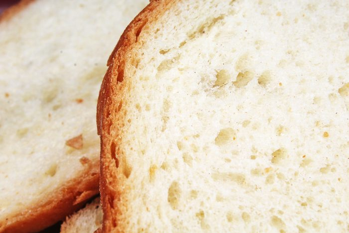 Bread texture. Bread pattern as background.
