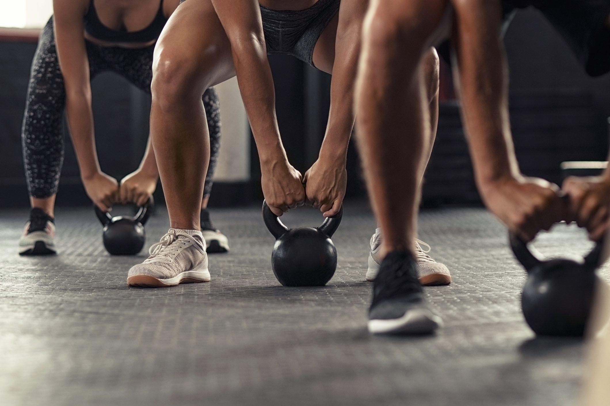 weight training exercise