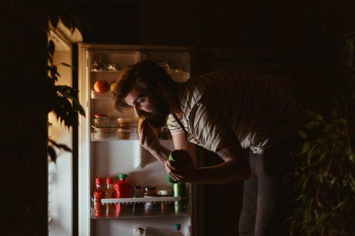 eating food at night and health