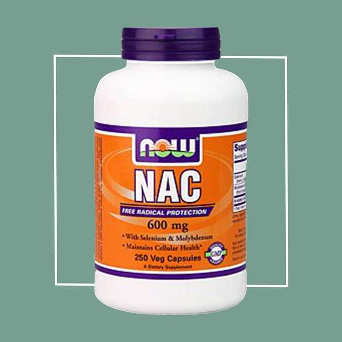 NAC anti-aging supplement