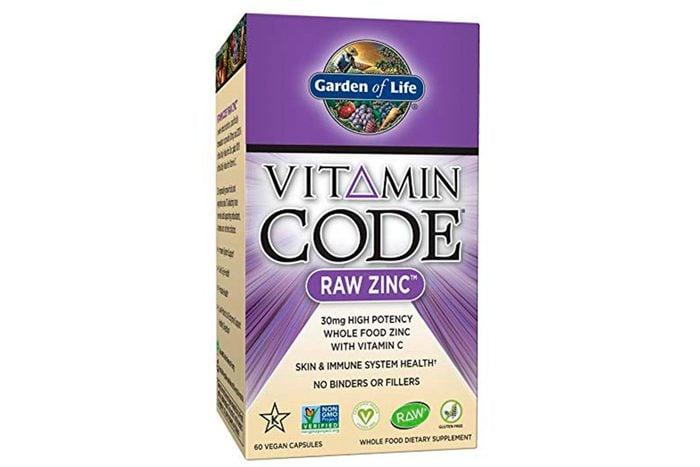 zinc anti-aging supplement