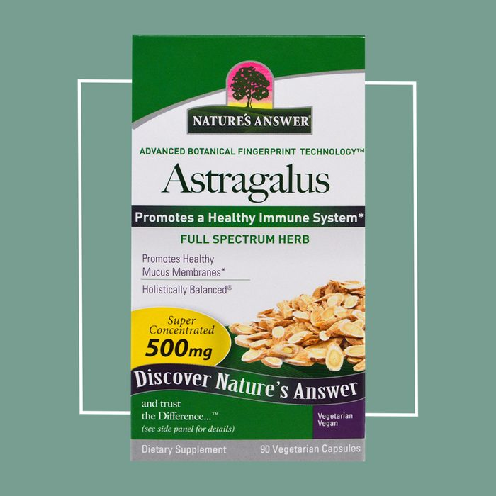 astragalus anti-aging supplement