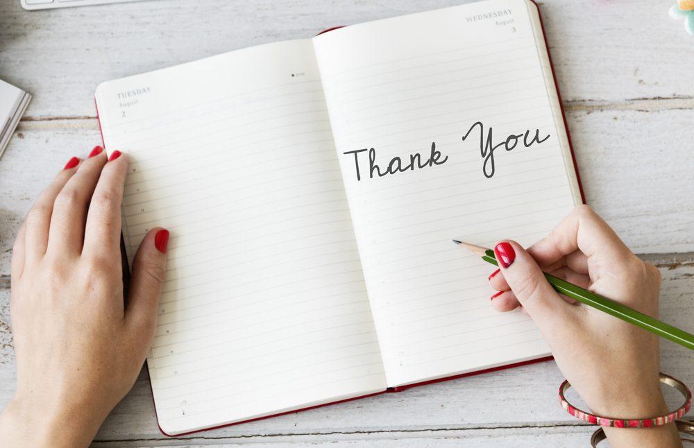 Thank You Appreciate Gratitude Thankful Concept