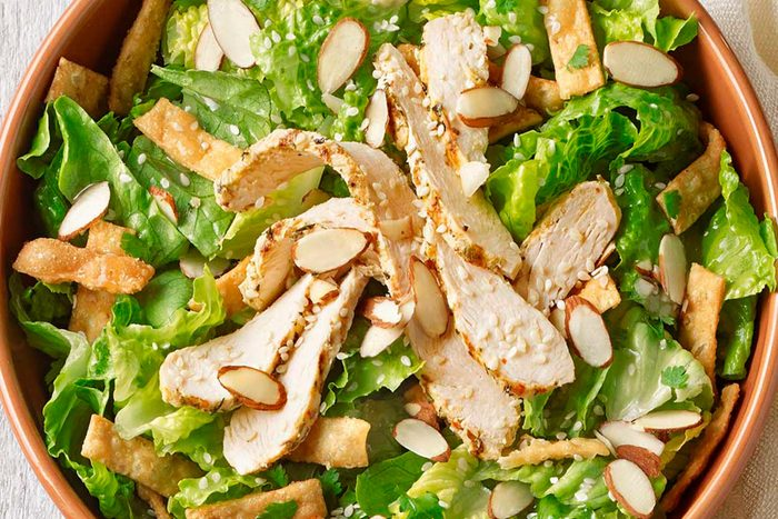 Panera asian sesame salad