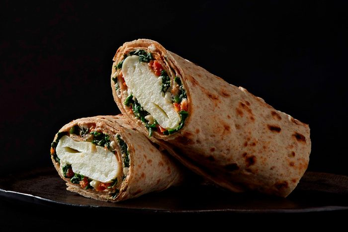 Starbucks Spinach feta breakfast wrap