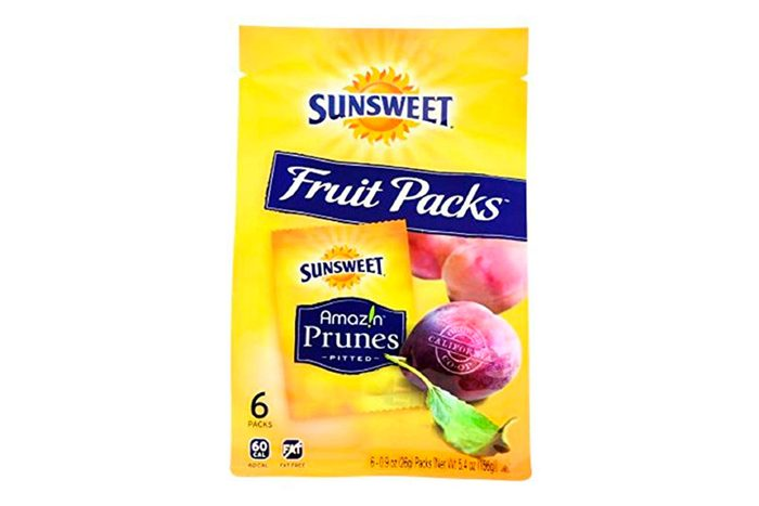 Sunsweet Dried Prunes Fruit Packs