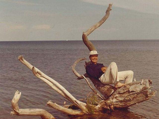 Jim, an avid sailor