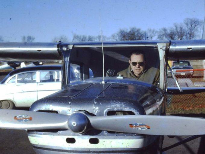 Jim at Flying Cloud Airport in Minnesota