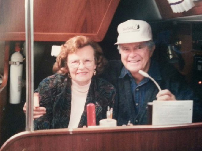 Jim with his wife, Dorothy
