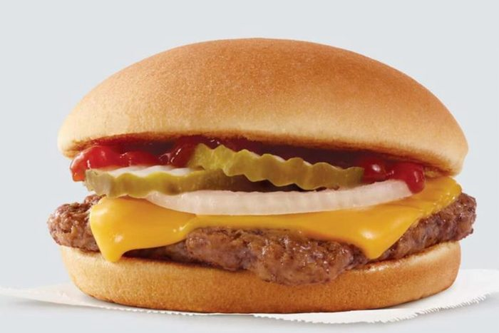 Wendy's Jr. Cheeseburger