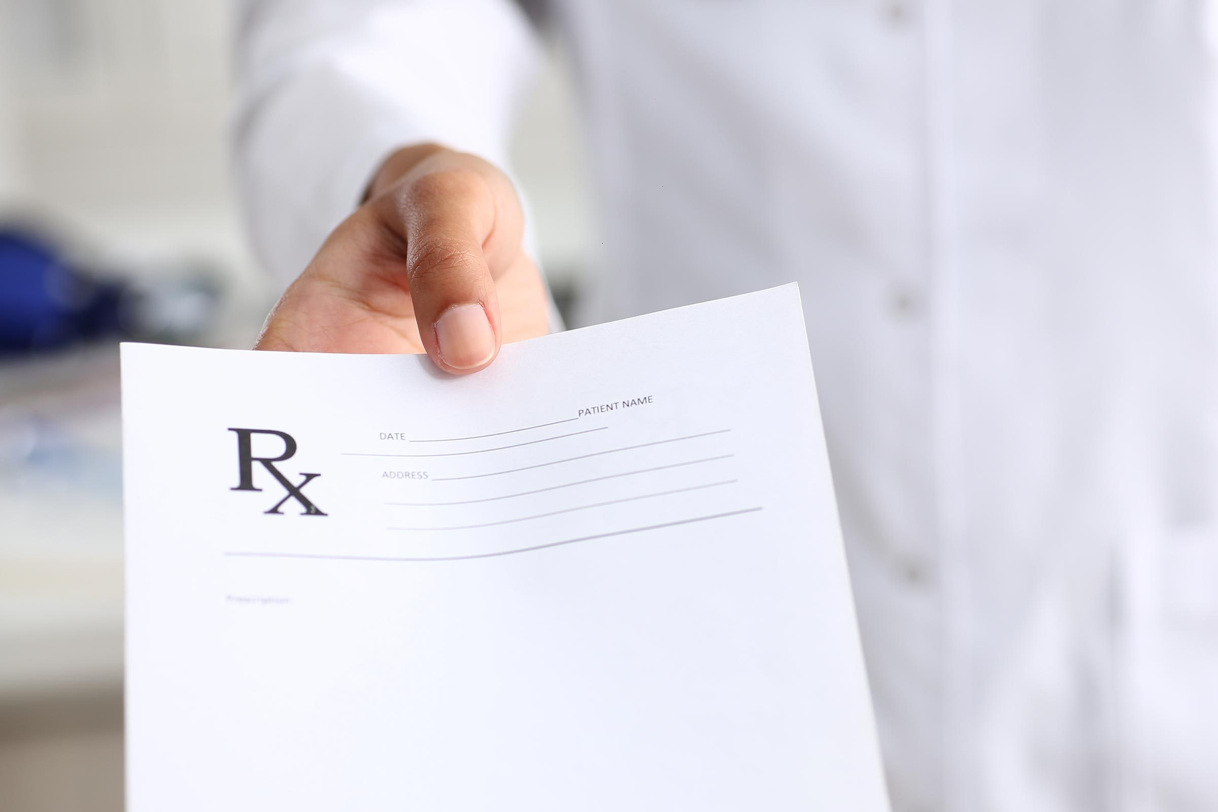 rx prescription pad doctor