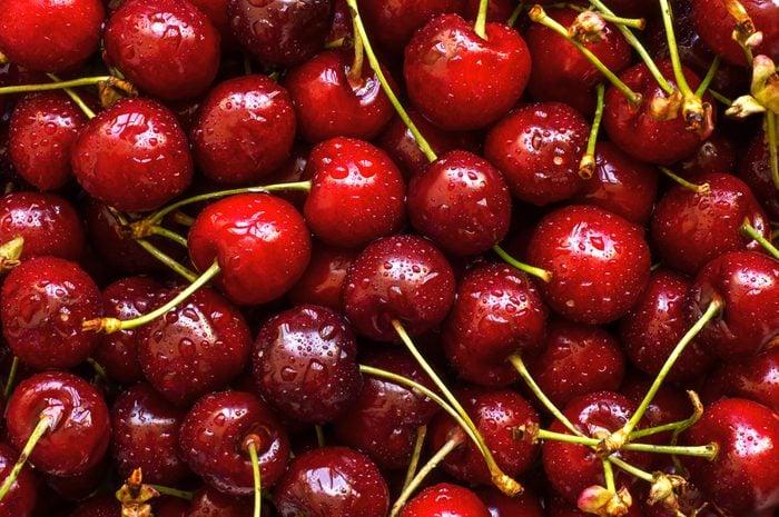 Cherries background