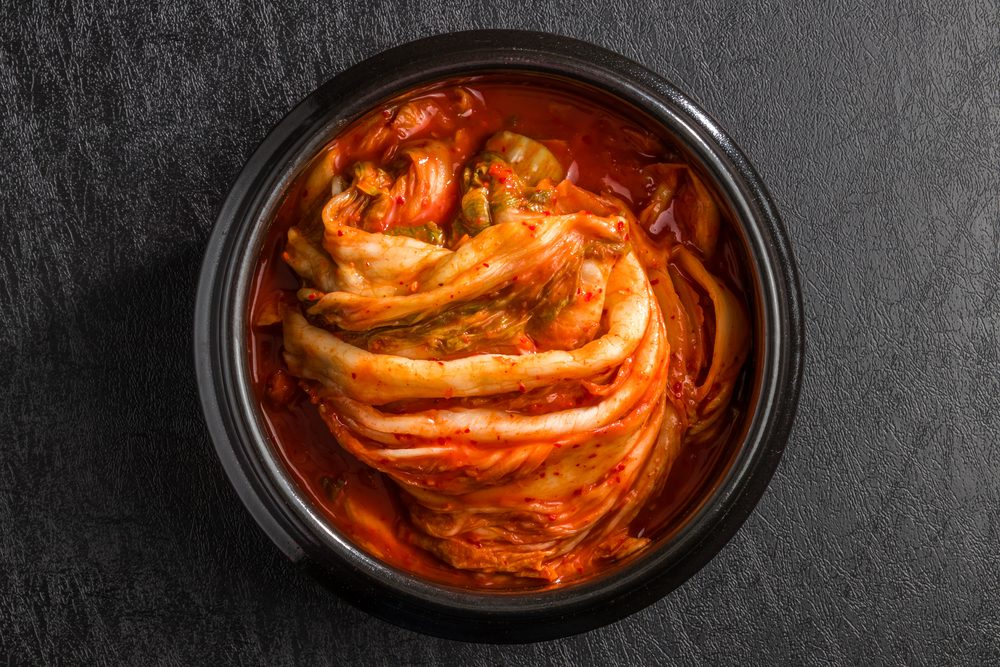Kimchi of the Chinese cabbage