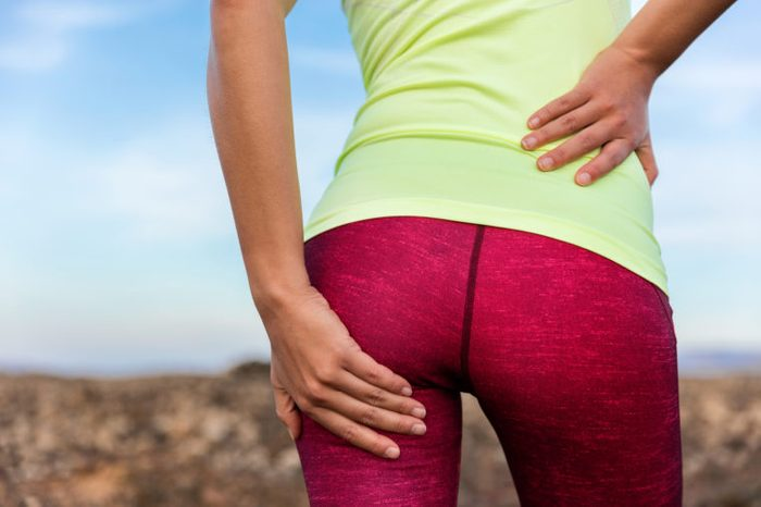 backside pain