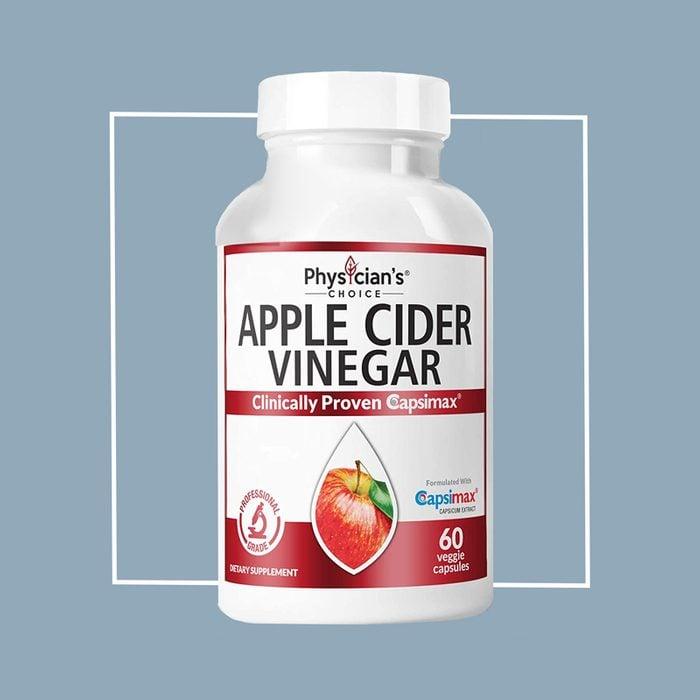 physician's choice apple cider vinegar supplement