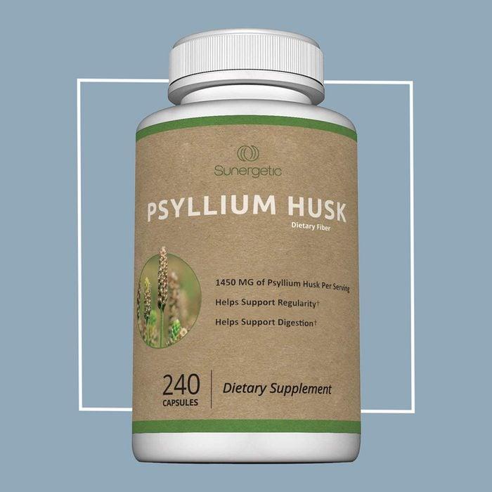 psyllium husk soluble fiber supplement