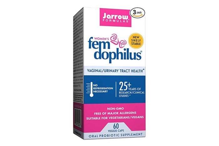 Jarrow Formulas Fem-Dophilus for Vaginal and Urinary Tract Health.