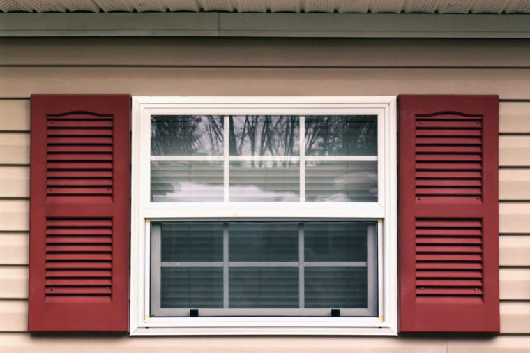 Window and shutters