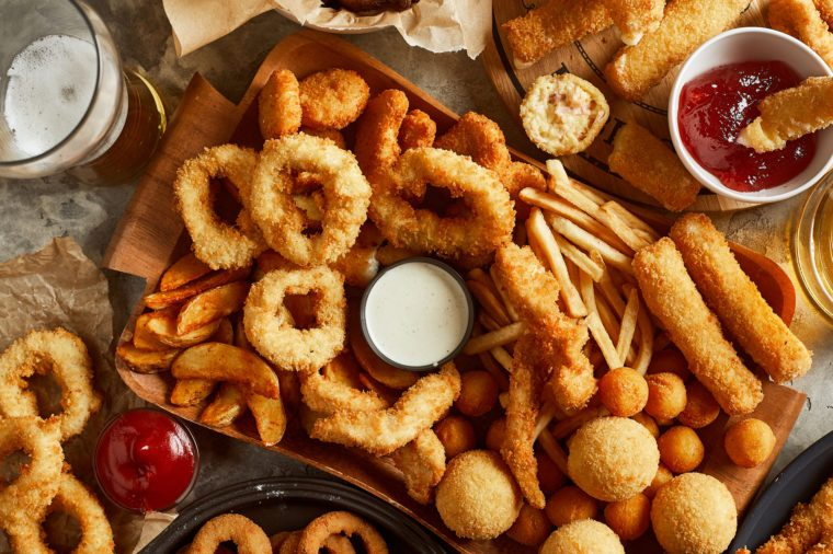 fried food and arthritis