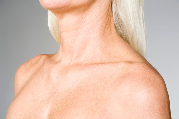 female chest aging