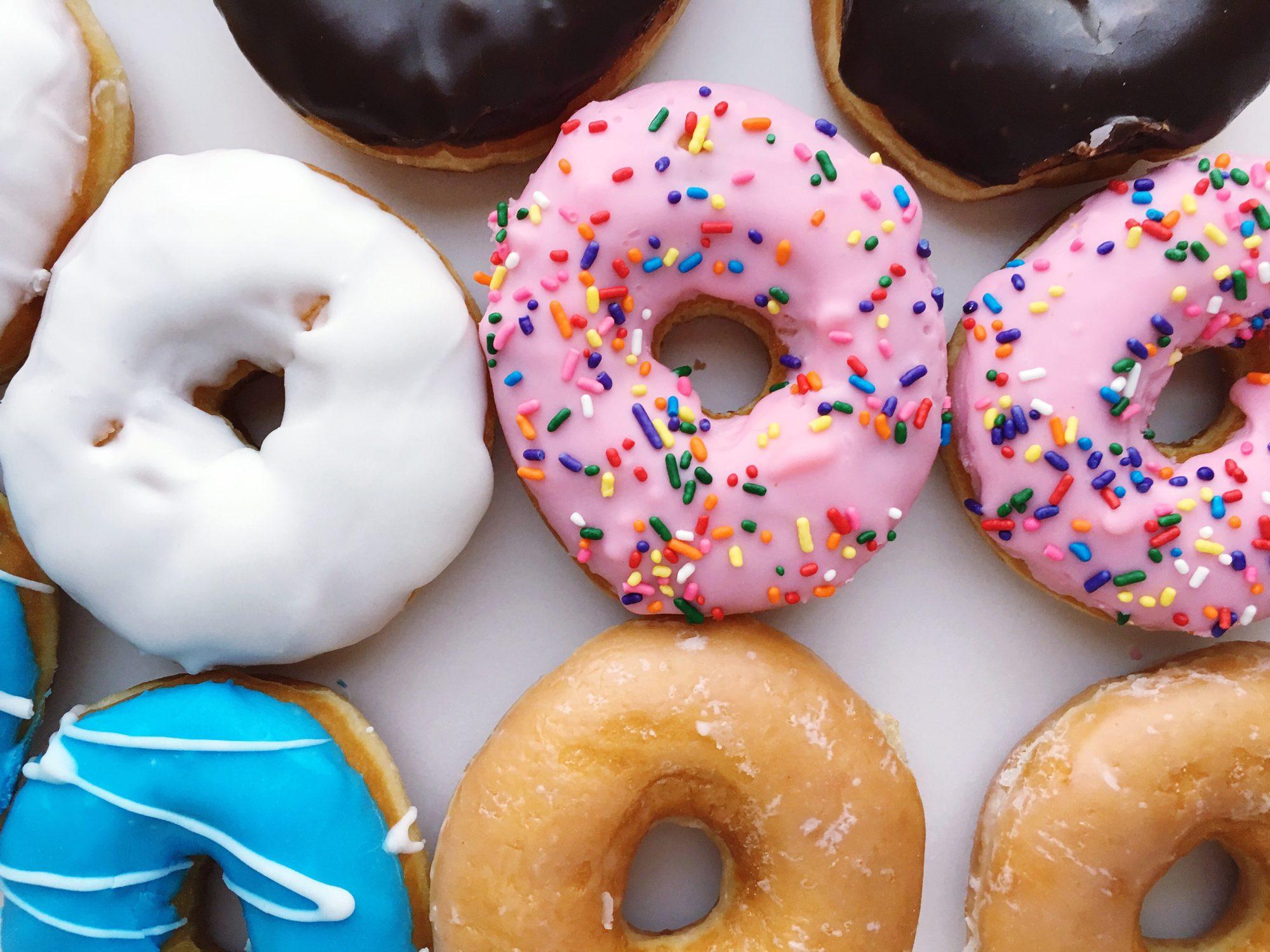 doughnuts full frame