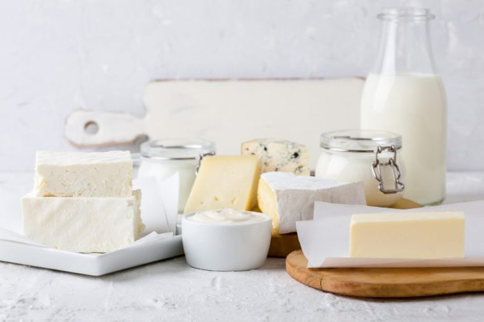 fresh dairy and arthritis