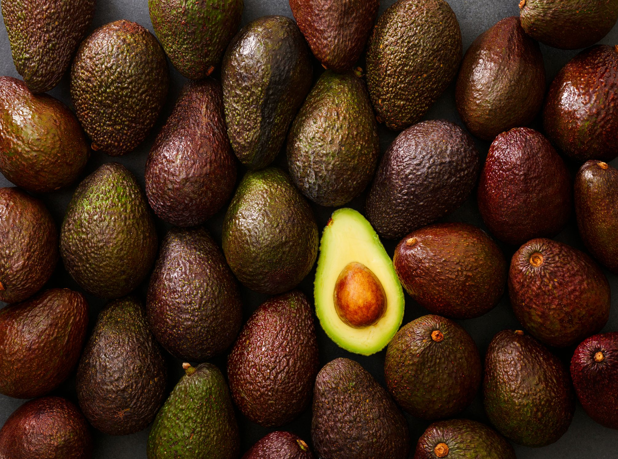 avocados full frame