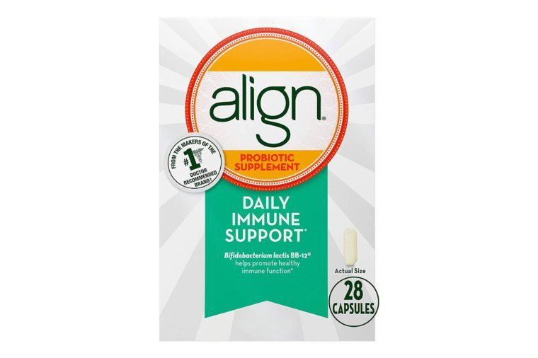 Align Probiotics, Immune Support Daily Probiotic Supplement for Men & Women.