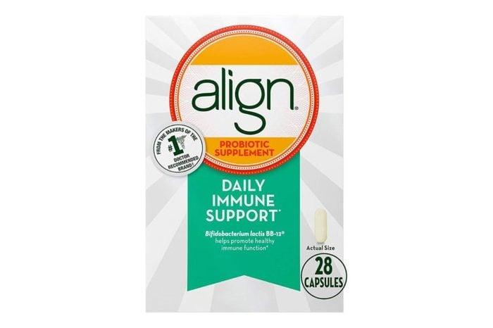 Align Probiotics, Immune Support Daily Probiotic Supplement for Men & Women.