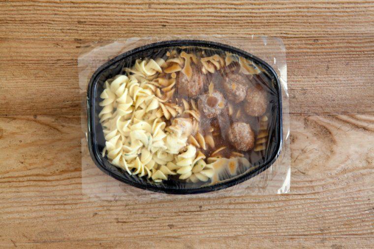 Frozen Pasta Dinner
