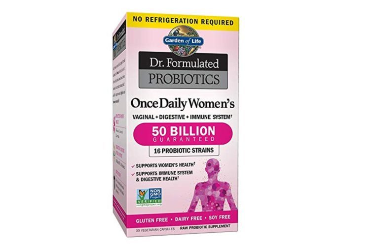 Garden of Life Dr. Formulated Probiotics, Once Daily Women's Shelf Stable.