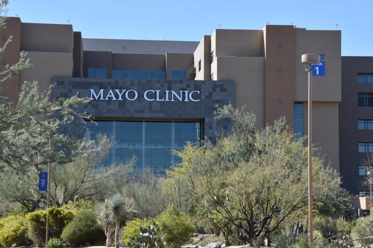 The Mayo Clinic Phoenix campus Phoenix Arizona 3/18/18