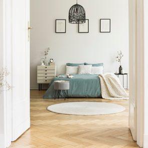 bedroom interior home concept