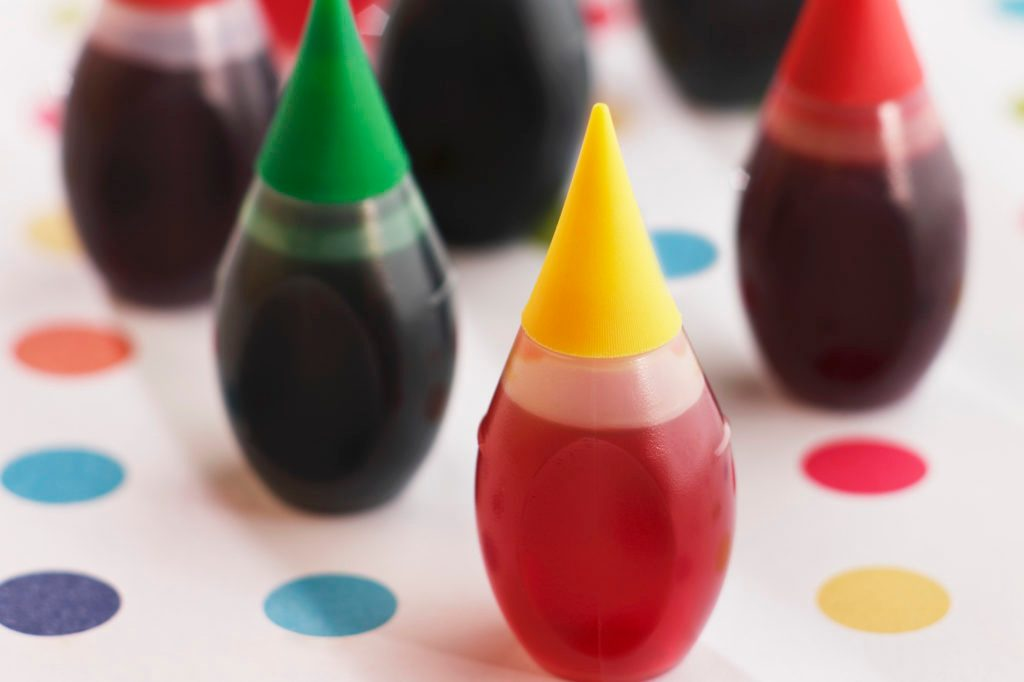 food coloring artificial dyes
