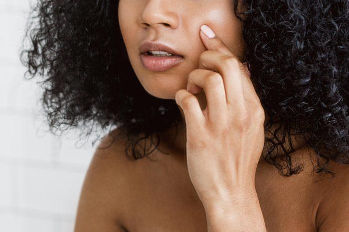 pop pimple skin