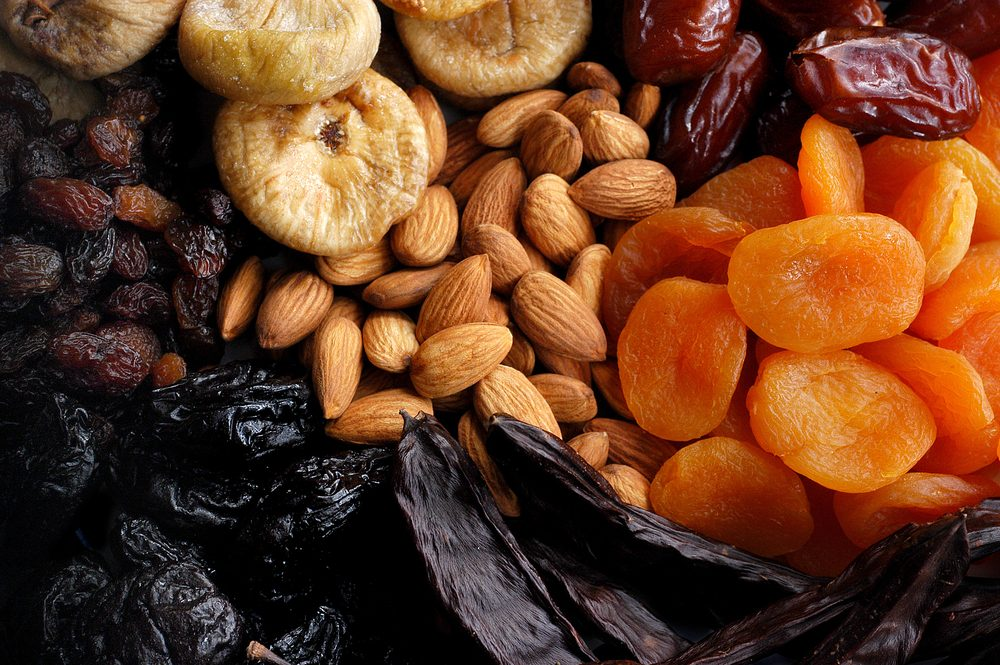 Dried Fruits Collection.