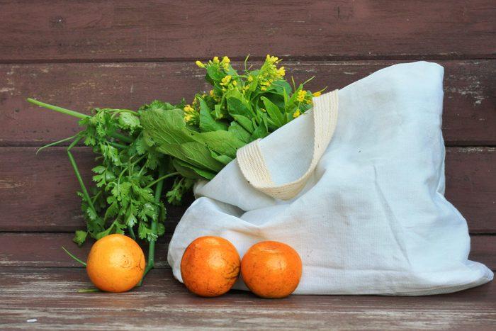 grocery bag fruit