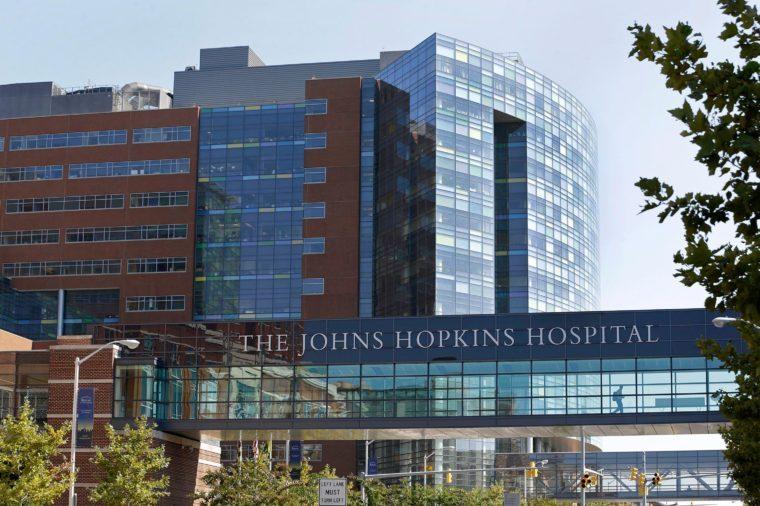 Hopkins Hospital Workers, Baltimore, USA